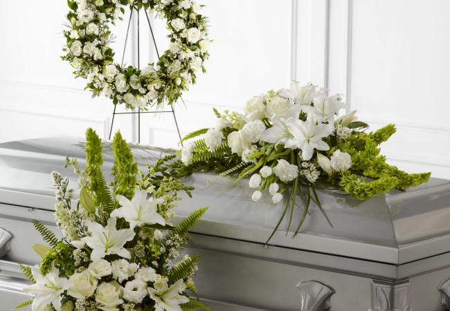 Begravning